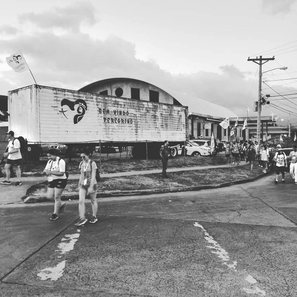 Acolhida dos Peregrinos da Arca na JMJ Panamá 2019