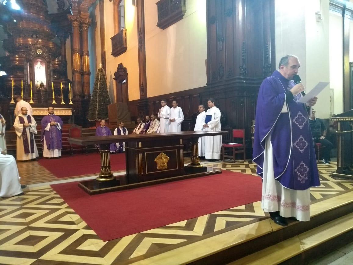 Missa na catedral de Campinas recorda vítimas de tragédia