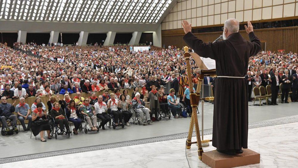 Cantalamessa: Renovação Carismática, Corrente de Graça para toda a Igreja