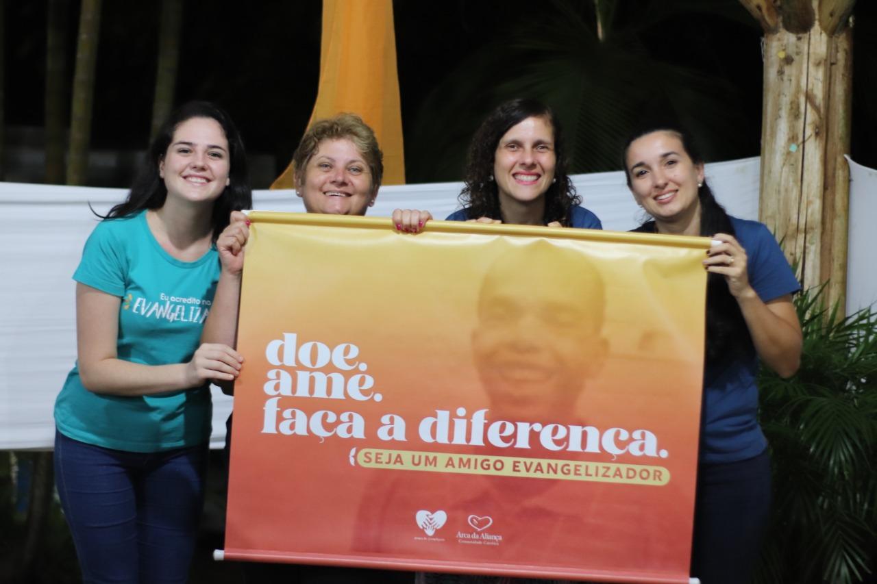Lançamento Campanha Doe. Ame. Faça a diferença. Seja um Amigo Evangelizador.
