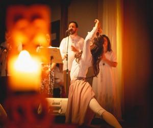 Missa de ação de graças de 10 anos de celibato de Alessandra e Cristiane